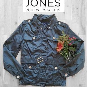 Jones New York Windbreaker Jacket